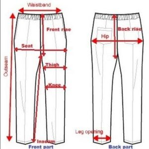 💃🏽🕺🏽How to measure pants